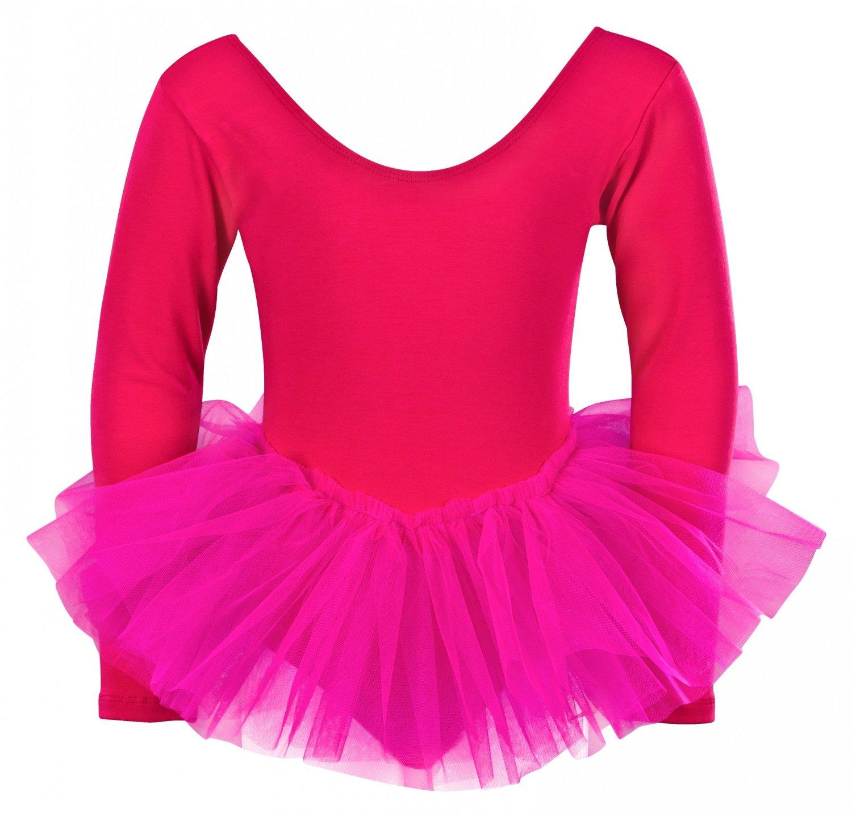kinder langarm ballett tutu alea ballett shop online. Black Bedroom Furniture Sets. Home Design Ideas