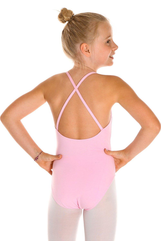 Ballettanzug Leonie mit Spaghettiträgern für Mädchen