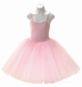 Tutu Kleid romantisch rosa
