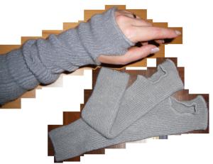 flauschige Armstulpen