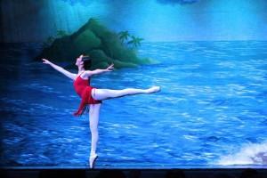 Aufwärmübungen für das Ballett