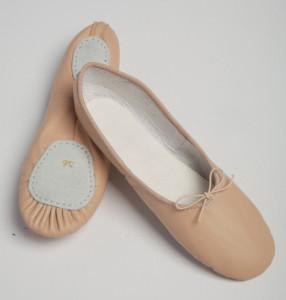 Ballettschuhe geteilte Sohle