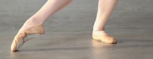 Ballettschuhe Leder
