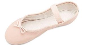 Ballettschläppchen Bloch Arise Leder - Ballettschuhe Rosa, Schwarz oder Weiß